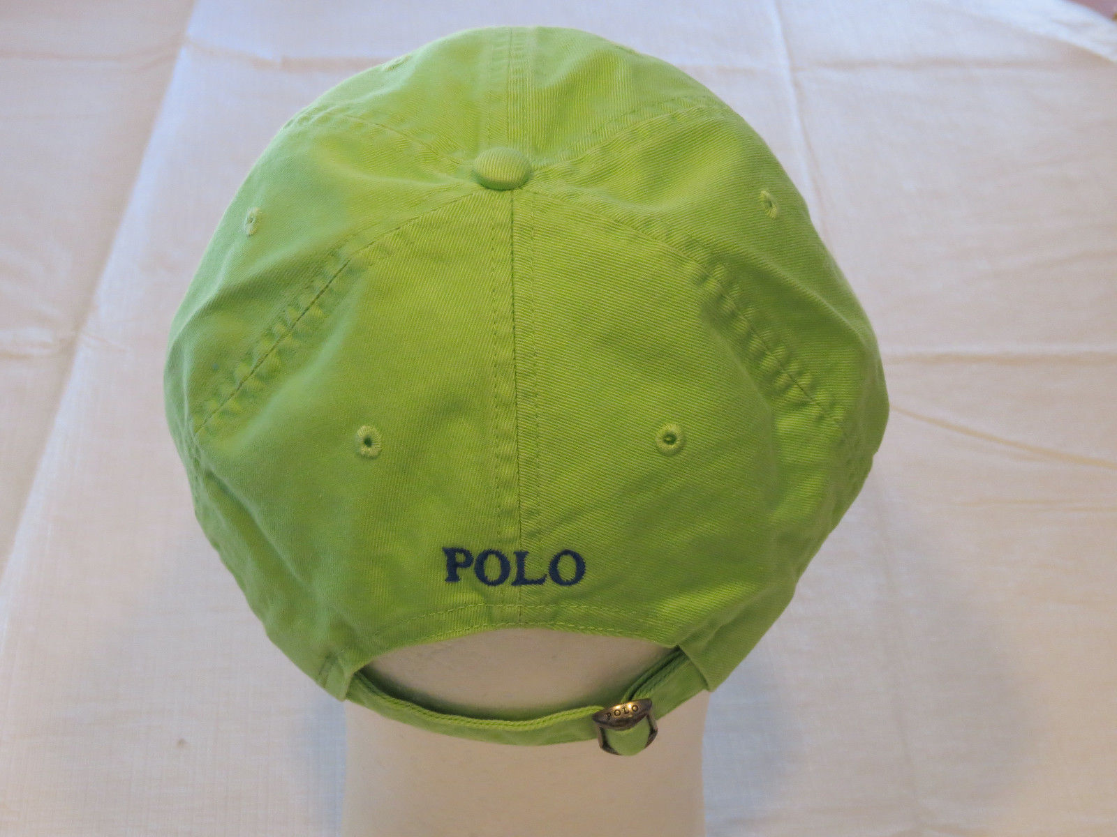 Mens Polo Ralph Lauren hat cap golf casual Green 4331002 adjustable classic 7f27d09562c3