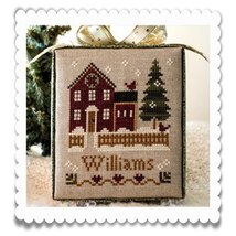 MY HOUSE release #1 Hometown Holidays cross stitch chart Little House Needlework - $5.40