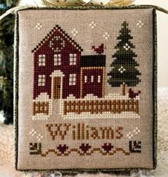 MY HOUSE release #1 Hometown Holidays cross stitch chart Little House Needlework