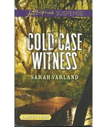 Cold Case Witness Sarah Varland (Love Inspired ... - $2.25