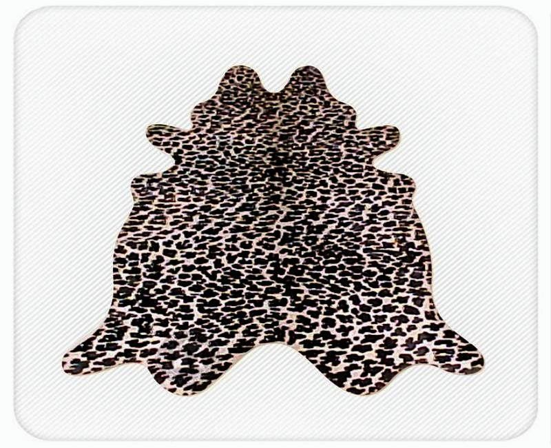Leopard on off white  2