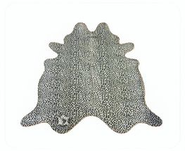 Cheetah Print Cowhide on Off White - $449.00