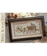 CLEARANCE Where Hearts Rest cross stitch chart ... - $8.00