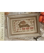 CLEARANCE Spring Delivery cross stitch chart Wi... - $8.00