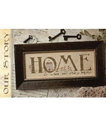 CLEARANCE Our Story cross stitch chart With Thy... - $8.00