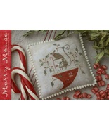 CLEARANCE Merry Mouse christmas cross stitch Wi... - $8.00