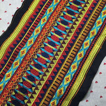 miao hmong native woven fabric lace trim ribbon tape webbing boho tribal... - $13.80