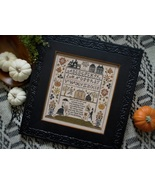 CLEARANCE Jack's Bash halloween cross stitch ch... - $9.50