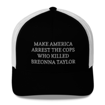 Make America Arrest The Cops Hat / Make America Arrest The Cops / Trucker Cap image 6