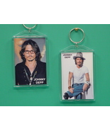 Johnny Depp 2 Photo Designer Collectible Keycha... - $9.95