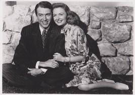 It's A Wonderful Life Jimmy Stewart Donna Reed PE 8X10 Movie Memorabilia... - $6.99