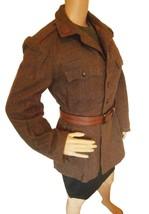 Vintage Soviet Era Bulgarian Women's military jeep jacket blazer coat ar... - $30.00+