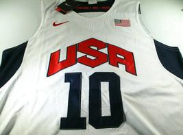 KOBE BRYANT / NBA HALL OF FAME / AUTOGRAPHED TEAM USA PRO STYLE JERSEY / COA image 2