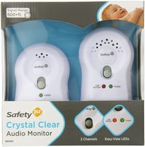 Hot Sael! $13.95 Safety 1st Crystal Clear Audio Monitor, White - $13.95