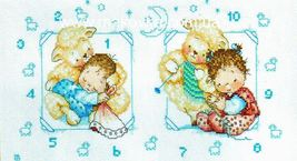 Set cross stitch Lanarte 23040.Razmer 31 / 17.5 cm.Me and my friends Pair - $13.00