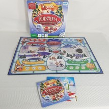 Rudolph Red Nosed Reindeer Island Of Misfit Toys DVD Board Game Complete  - $14.95