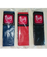 Brand New Tug Standard Solid Stretch Book Covers  - Set of 3 - Red, Blue... - $1.95