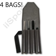 FOUR Paintball Gun Barrel Protective Storage Bags Roll Ups Case spyder s... - $38.00