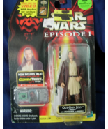 Hasbro STAR WARS Episode I Qui-Gon Jinn Figure ... - $6.00