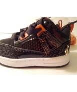 Baby Phat Toddler Size 5 Sneaker Tennis Shoes Black and Orange NIB - $24.74
