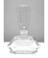 Vintage West German clear lead crystal perfume ... - $30.00
