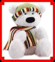 Bear Holiday Bernard The Polar Bear Soft & Cuddly 16 in - $21.73