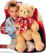 Bear Holiday Huggable Bear Cute Big Soft & Cuddly 22 in - $21.73