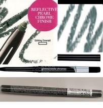Make Up Glimmerstick Eye Liner Retractable CHROMES ~Color Striking Emera... - $6.88