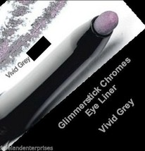 Make Up Glimmerstick Eye Liner Retractable CHROMES ~Color Vivid Grey~ NEW - $6.88