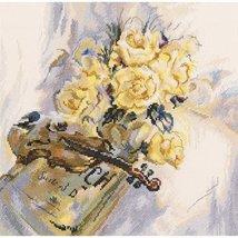 Set cross stitch RTO company's Suite for Violin.M548 size 30 / 29.5 cm. - $23.00