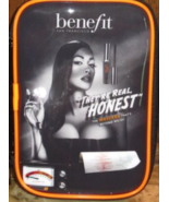 Benefit They're Real, Honest Black Zip Cosmetic Bag NEW - $7.99
