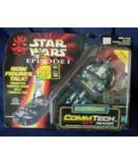 Hasbro STAR WARS Episode I CommTech Electronic ... - $15.00