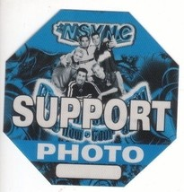 'N SYNC n sync backstage Satin Cloth PASS tour collectible SUPPORT PHOTO - $11.38
