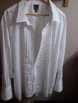 Jos. A. Bank Men's Tuxedo Shirt Sz 20-35 Cotton French Cuffs 5 Studs Nee... - $24.95