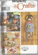 Simplicity Craft Pattern #5227-Shirley Botsford-Sewing Accessories-Sewin... - $4.95
