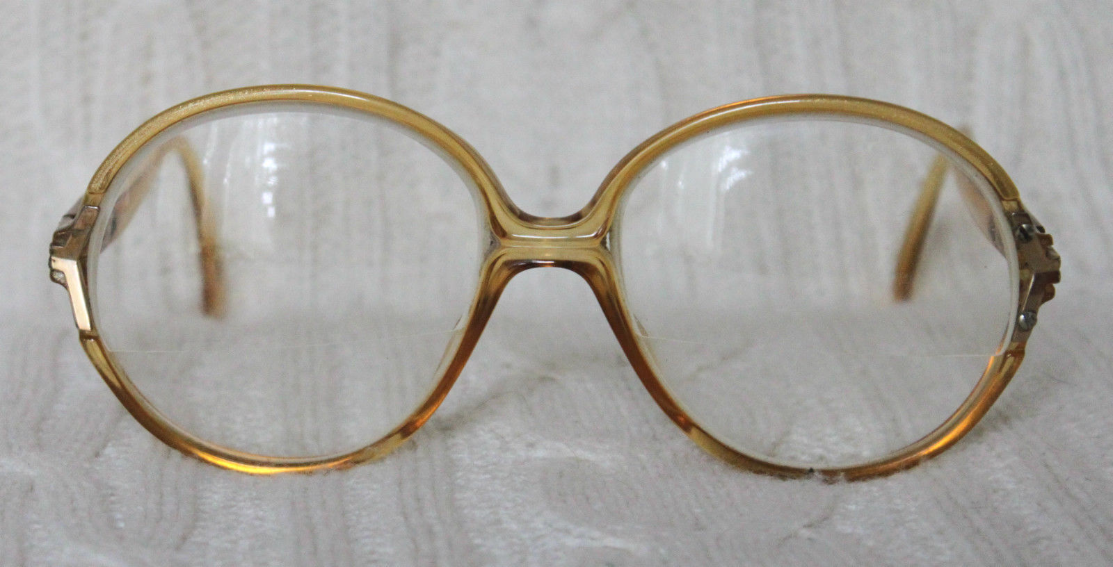 Designer Eyeglass Frames From Germany : Vintage 70s Christian Dior 2136 10 53 16 Gold Designer ...