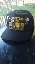 Teamsters Local 771 Retiree Black Baseball Hat ... - $38.69