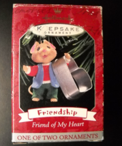 Hallmark Keepsake Christmas Ornament 1998 Friendship Friend Of My Heart ... - $7.99