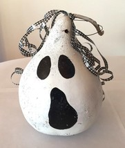 """WHITE GHOST GOURD HANGING HALLOWEEN FALL DECOR-9"""" TALL~NICE - €8,28 EUR"""