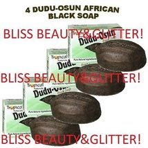 Dudu Osun 4 LOT! Tropical Natural Black Soap 150g With Citrus Juice&Nati... - $12.19