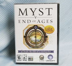 Myst V: End of Ages The Last Chapter (PC, 2005) Windows 2000/XP NEW and ... - $26.31