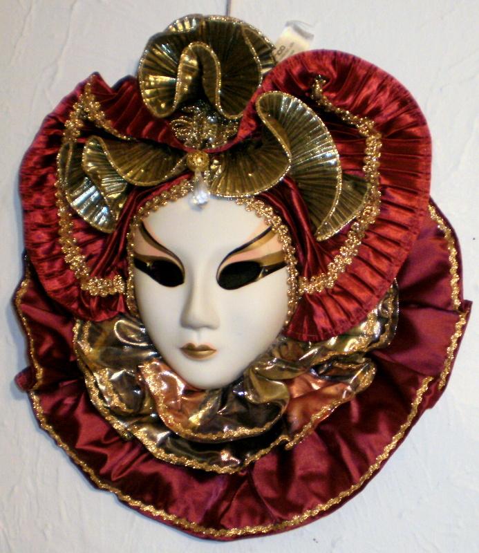 Vintage ANCO porcelain mask