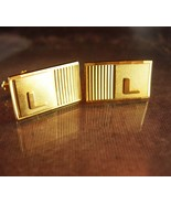 Cufflinks Script Initials L Vintage personalized letter High Quality Bus... - $95.00
