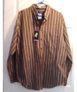 Roundtree & Yorke Men's Size L Button Down Toba... - $19.95