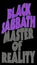 "Black Sabbath ""Master Of Reality"" Magnet - $6.99"