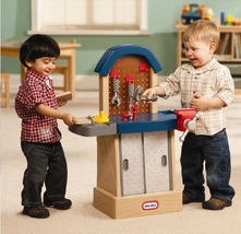 Kid sized workbench play more thumb200
