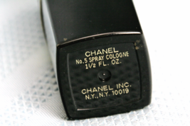 Chanel Atomizer Case w Chanel no 5 Refillable Perfume Bottle 1 1/2 Oz approx 45% image 4