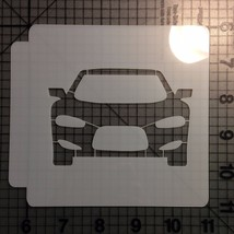 Car Front Stencil 100 - $3.50+