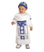 Star Wars R2D2 Infant Toddler Costume - Multiple Sizes Available - ₨1,678.55 INR
