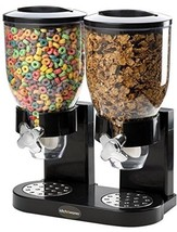 Double Chamber Airtight Cereal And Dry Food Dispenser With Built In Spi... - €42,60 EUR